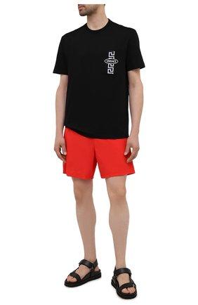 Мужские плавки-шорты VILEBREQUIN красного цвета, арт. MOOH1D99/201 | Фото 2
