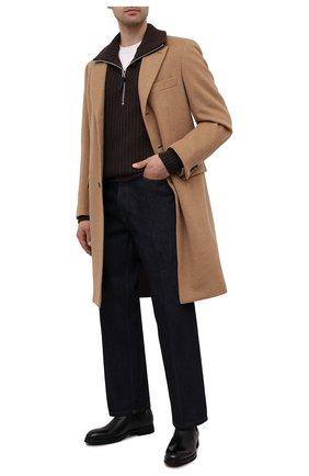 "Мужские кожаные челси BARRETT черного цвета, арт. 192U054.11/VITELL0 "" F"" | Фото 2"