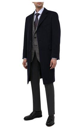 Мужские кожаные дерби BARRETT черного цвета, арт. 211U055.8/CERV0 | Фото 2
