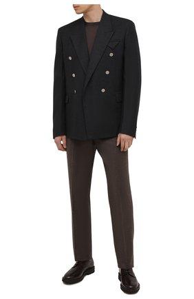 Мужские кожаные дерби H`D`S`N BARACCO темно-коричневого цвета, арт. 81216.B.0* | Фото 2