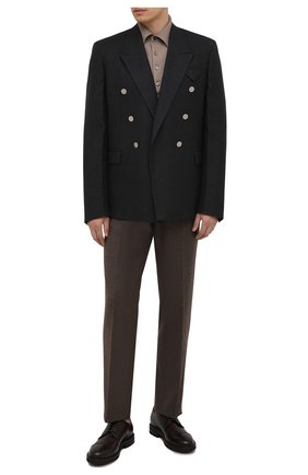 Мужские кожаные дерби H`D`S`N BARACCO темно-коричневого цвета, арт. 81218.L.0* | Фото 2
