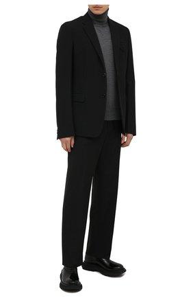 Мужские кожаные оксфорды ALEXANDER MCQUEEN черного цвета, арт. 610815/WHZ83 | Фото 2