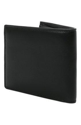 Мужской кожаное портмоне VERSACE черного цвета, арт. DPU2463/DVT8ME | Фото 2