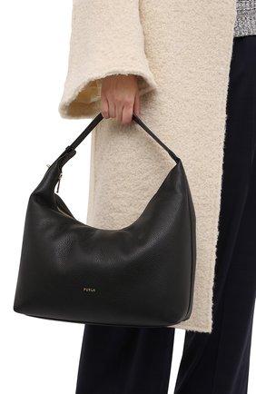 Женская сумка furla net FURLA черного цвета, арт. WB00229/HSF000   Фото 2