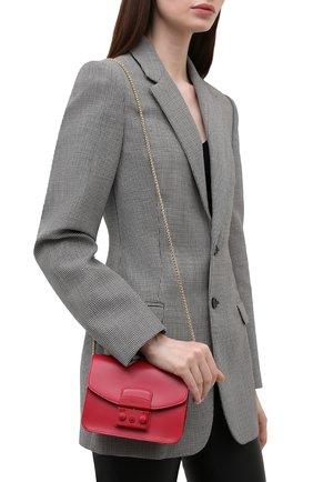 Женская сумка metropolis mini FURLA фуксия цвета, арт. BATLEP0/VNC000   Фото 2