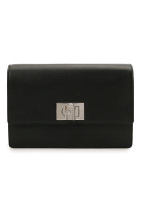 Женская сумка furla 1927 soft mini FURLA черного цвета, арт. WB00340/AX0748   Фото 1