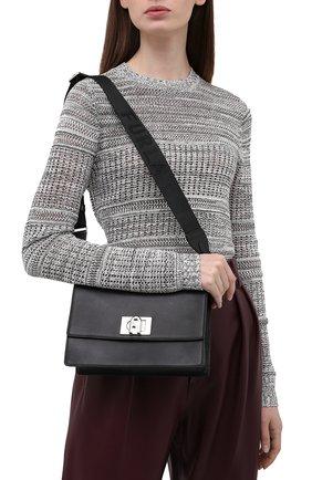 Женская сумка furla 1927 soft mini FURLA черного цвета, арт. WB00340/AX0748   Фото 2