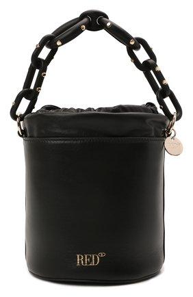 Женская сумка REDVALENTINO черного цвета, арт. WQ2B0C85/XYZ   Фото 1