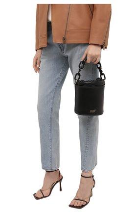 Женская сумка REDVALENTINO черного цвета, арт. WQ2B0C85/XYZ   Фото 2