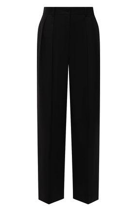 Женские хлопковые брюки THE ROW черного цвета, арт. 5629W2047 | Фото 1