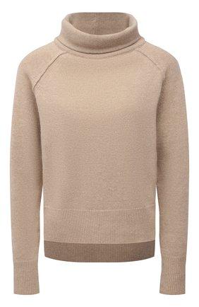 Женский шерстяной пуловер LORENA ANTONIAZZI бежевого цвета, арт. A21114DM027/1906 | Фото 1