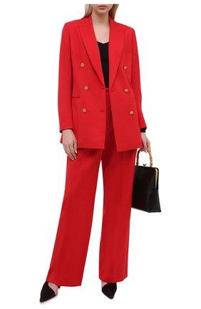 Женский шерстяной жакет LORENA ANTONIAZZI красного цвета, арт. A2125GA29A/3607 | Фото 2