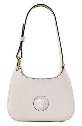 Женская сумка la medusa small VERSACE белого цвета, арт. 1000802/DVIT3T   Фото 1