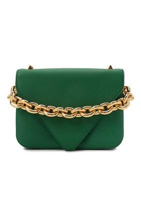 Женская сумка mount BOTTEGA VENETA зеленого цвета, арт. 667399/V12M0 | Фото 1