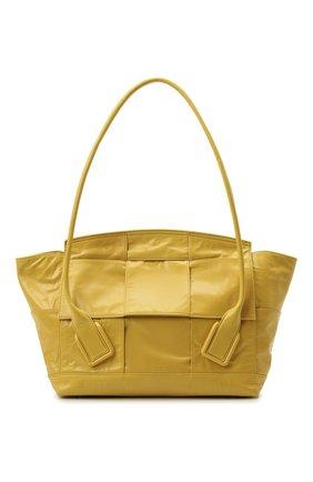 Женская сумка arco BOTTEGA VENETA желтого цвета, арт. 666875/VCQ71 | Фото 1