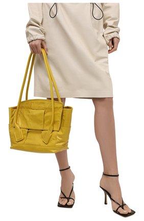 Женская сумка arco BOTTEGA VENETA желтого цвета, арт. 666875/VCQ71 | Фото 2