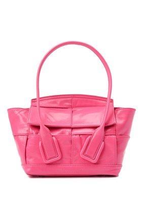 Женская сумка arco BOTTEGA VENETA фуксия цвета, арт. 666873/VCQ71 | Фото 1