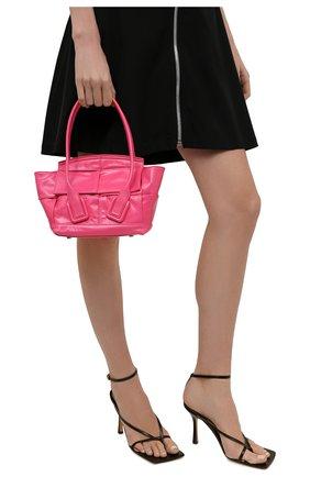 Женская сумка arco BOTTEGA VENETA фуксия цвета, арт. 666873/VCQ71 | Фото 2
