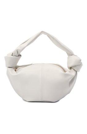 Женская сумка mini BOTTEGA VENETA белого цвета, арт. 629635/VCP41 | Фото 1