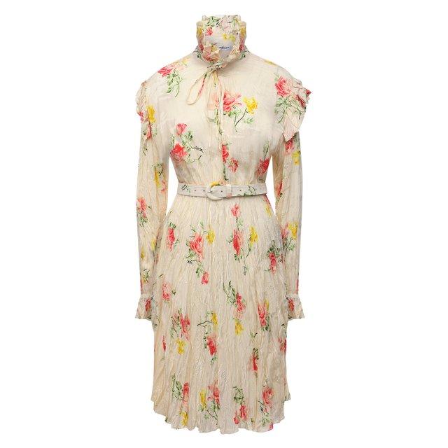 Шелковое платье Balenciaga