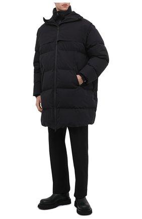 Мужские кожаные челси lug BOTTEGA VENETA темно-зеленого цвета, арт. 634403/VBS50 | Фото 2 (Материал внутренний: Натуральная кожа; Подошва: Массивная; Каблук высота: Высокий; Мужское Кросс-КТ: Челси-обувь, Сапоги-обувь)