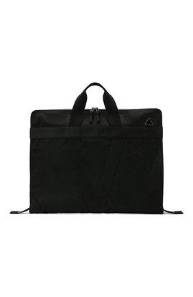 Мужская текстильный кофр BOTTEGA VENETA черного цвета, арт. 658607/V0EP4 | Фото 1