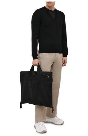 Мужская текстильный кофр BOTTEGA VENETA черного цвета, арт. 658607/V0EP4 | Фото 2