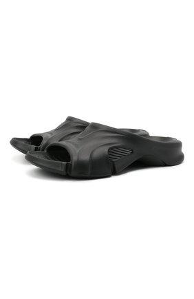 Мужские шлепанцы mold BALENCIAGA черного цвета, арт. 653874/W3CE2 | Фото 1