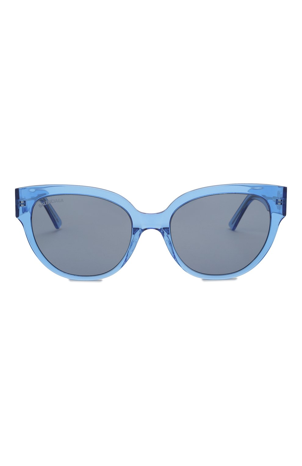 Женские солнцезащитные очки BALENCIAGA голубого цвета, арт. 584805/T0001 | Фото 3