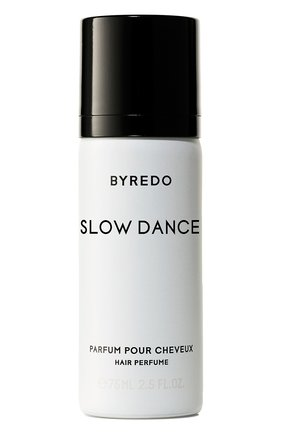Парфюмерная вода для волос slow dance (75ml) BYREDO бесцветного цвета, арт. 7340032824568   Фото 1 (Ограничения доставки: flammable)