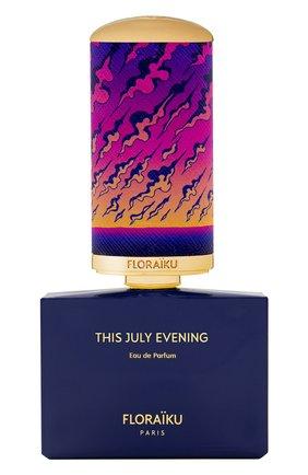 Парфюмерная вода this july evening FLORAIKU бесцветного цвета, арт. 3701123004179 | Фото 1