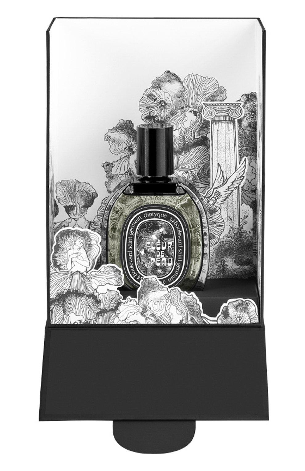 Парфюмерная вода fleur de peau holiday limited edition DIPTYQUE бесцветного цвета, арт. 3700431422675   Фото 1 (Ограничения доставки: flammable)