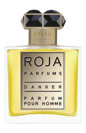 Мужской духи danger pour homme  ROJA PARFUMS бесцветного цвета, арт. 5060270292234 | Фото 1