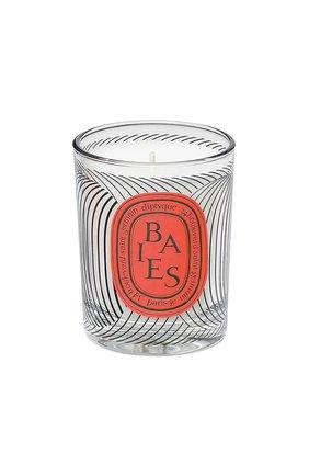 Свеча baies dancing ovals limited edition DIPTYQUE бесцветного цвета, арт. 3700431427847 | Фото 1