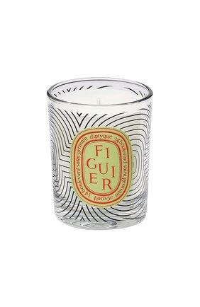 Свеча figuier dancing ovals limited edition DIPTYQUE бесцветного цвета, арт. 3700431427854 | Фото 1