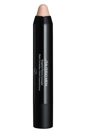 Мужское маскирующий карандаш shiseido men, оттенок light SHISEIDO бесцветного цвета, арт. 17195SH | Фото 2
