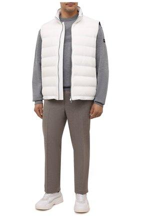 Мужской пуховый жилет BRUNELLO CUCINELLI белого цвета, арт. ML4911714W | Фото 2