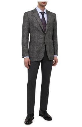Мужские кожаные оксфорды BARRETT черного цвета, арт. 192U043.14/VITELL0 | Фото 2