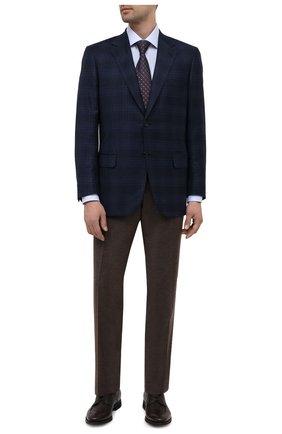 Мужские кожаные дерби BARRETT темно-коричневого цвета, арт. 192U067.10/CERV0 ASP0RTABILE | Фото 2