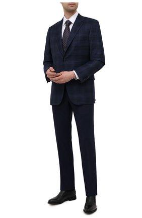 Мужские кожаные лоферы BARRETT черного цвета, арт. 192U089.12/CERV0 | Фото 2