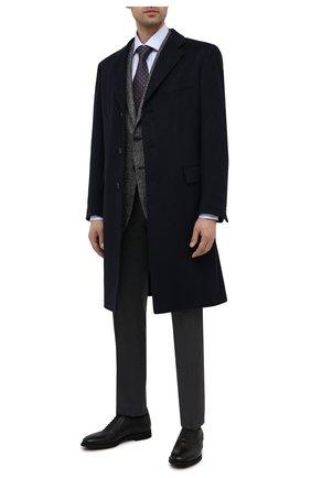 Мужские кожаные оксфорды BARRETT черного цвета, арт. 211U012.16/CERV0 | Фото 2