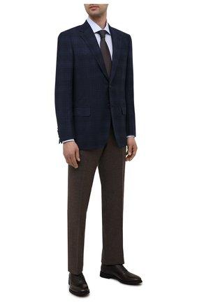Мужские кожаные оксфорды BARRETT темно-коричневого цвета, арт. 211U012.17/CERV0 ASP0RTABILE | Фото 2