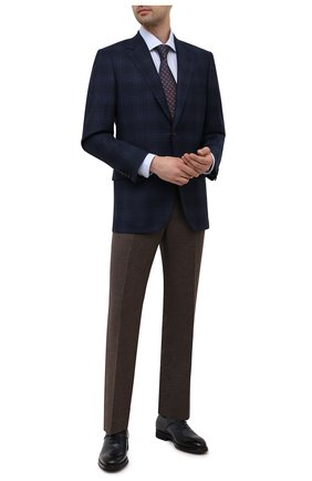 Мужские кожаные оксфорды BARRETT темно-серого цвета, арт. 212U013.5/BETIS CREAM | Фото 2