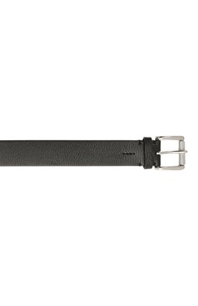 Мужской кожаный ремень RALPH LAUREN черного цвета, арт. 404849256 | Фото 3
