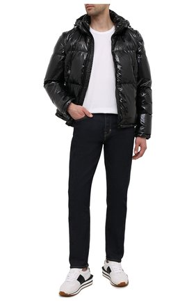 Мужская пуховая куртка PAUL&SHARK черного цвета, арт. 11312306/HT1 | Фото 2