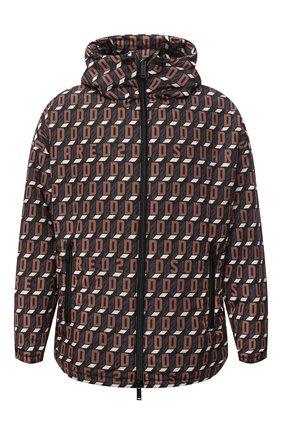 Мужская утепленная куртка DSQUARED2 коричневого цвета, арт. S74AM1199/S54050 | Фото 1 (Материал внешний: Синтетический материал; Рукава: Длинные; Материал подклада: Синтетический материал; Длина (верхняя одежда): Короткие; Кросс-КТ: Куртка; Мужское Кросс-КТ: пуховик-короткий)