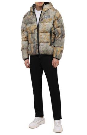 Мужская пуховая куртка DSQUARED2 хаки цвета, арт. S74AM1211/S54055   Фото 2