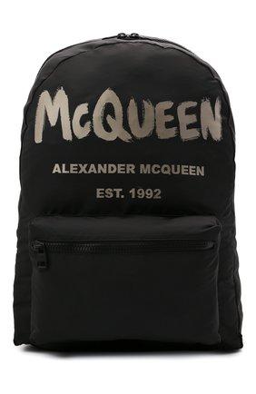 Мужской текстильный рюкзак ALEXANDER MCQUEEN черного цвета, арт. 662859/1AABW | Фото 1
