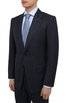 Мужской шерстяной костюм TOM FORD темно-синего цвета, арт. 211R44/21AA43 | Фото 2