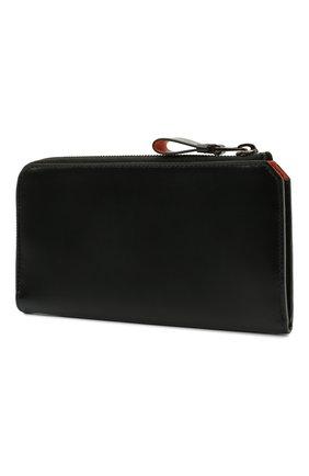 Мужской кожаный футляр для документов SANTONI черного цвета, арт. UFPPA2122F0-GRT0N01 | Фото 2